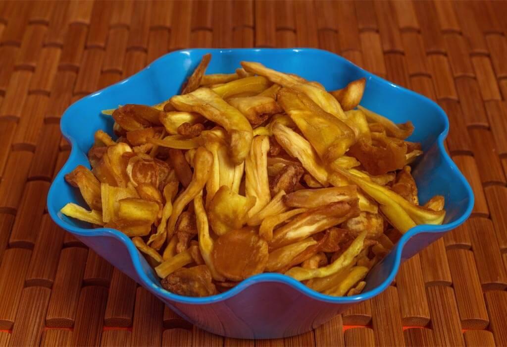 healthy jackfruit chips