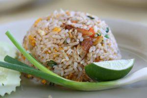 cooked matta rice