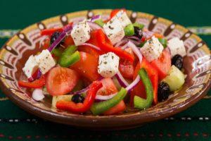salads with black olives