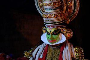 Kathakali - Onam dance