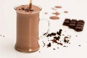 Chocolate bar shake
