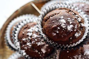 Chocolate bar muffins