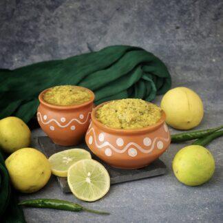 Lemon rice paste